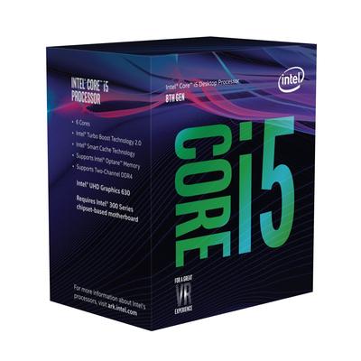 Intel processor: Core i5-8600