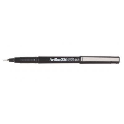 Artline gelpen: 220 - Zwart