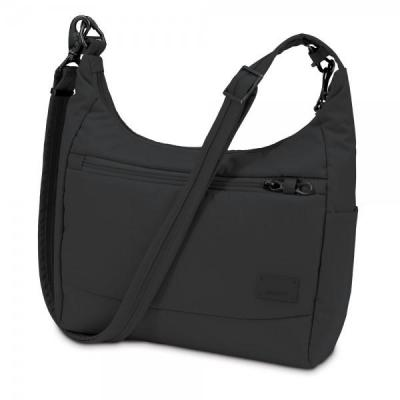 Pacsafe vrouwen-handtas: Citysafe CS100 - Zwart