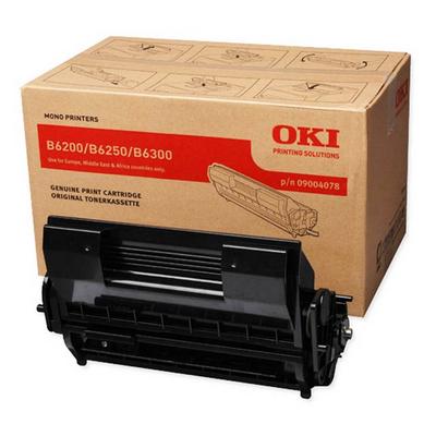 OKI B6200 / B6250 / B6300 Cartridge Black 10.000 pages Toner - Zwart