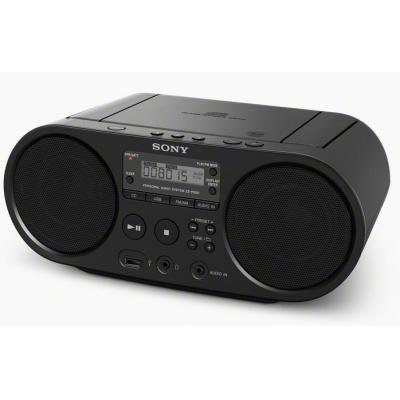 Sony radio: ZS-PS50 - Zwart