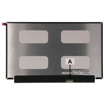 "2-power notebook reserve-onderdeel: 33.782 cm (13.3 "") 1920x1080 WUXGA HD Matte - Zwart"