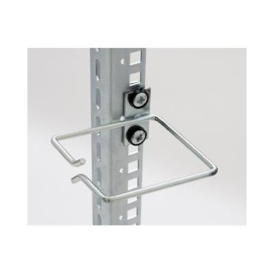 Equip kabelklem: Cable Management Ring, 80 x 40 mm, Front Opening, Central Fixing - Grijs