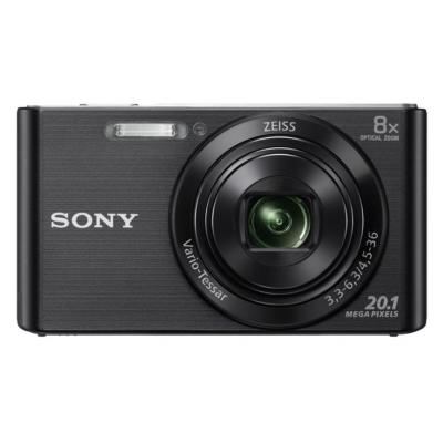 Sony digitale camera: Cyber-shot DSC-W830 - Zwart