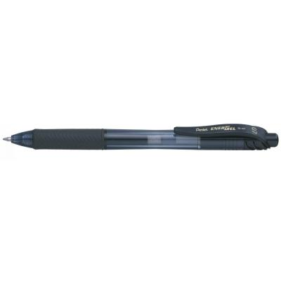 Pentel gelpen: Energel X 0.7mm, black - Zwart