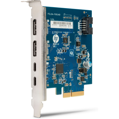 Hp interfaceadapter: Thunderbolt 3 PCIe 2-poort I/O-kaart