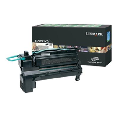 Lexmark C792 20K zwarte retourprogramma printcartr. Toner