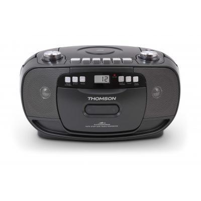Thomson CD-radio: radio en CD speler met cassettedeck - Zwart
