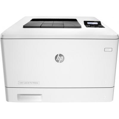 HP LaserJet Color Pro M452nw laserprinter - Zwart, Cyaan, Geel, Magenta