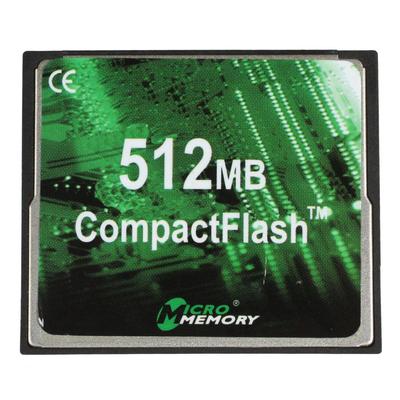 CoreParts 512MB CF x40 Type I Flashgeheugen - Zwart