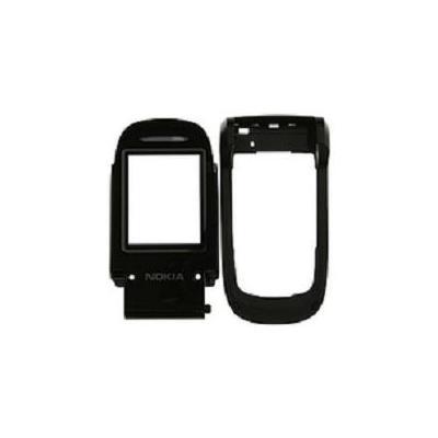 Microspareparts mobile telefoon cover: Nokia 2660 Cover - Black  - Zwart