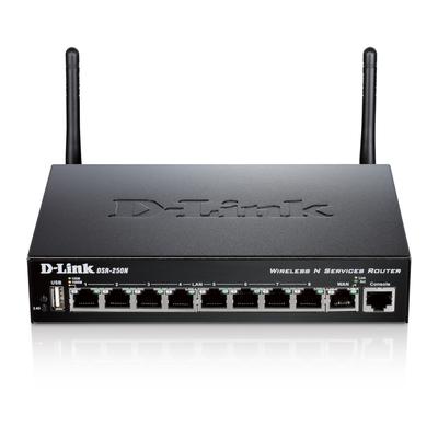D-Link DSR-250N Wireless router - Zwart