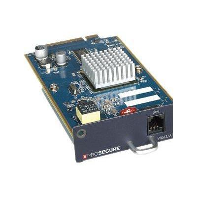 Netgear netwerk switch module: Annex A/Annex M, UTM VDSL/ADSL2+, AAL5, PVCs, RFC 1483