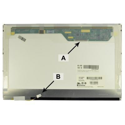 """2-power notebook reserve-onderdeel: 35.814 cm (14.1 """") HD+ 1366x768 CCFL1 Matte - Zwart, Groen, Grijs, Wit"""