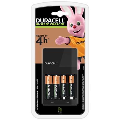Duracell CEF14 Oplader - Zwart