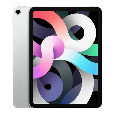 Apple iPad Air (2020) Wi-Fi + Cellular 64GB 10.9 inch Silver Tablet - Zilver