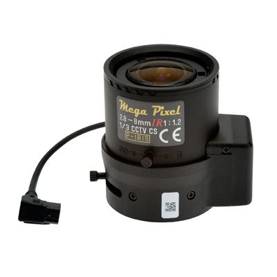 Axis Mega Pixel Camera lens - Zwart,Transparant