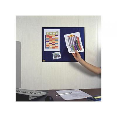 Post-it prikbord: Memobord zelfkl. 585x460mm blauw