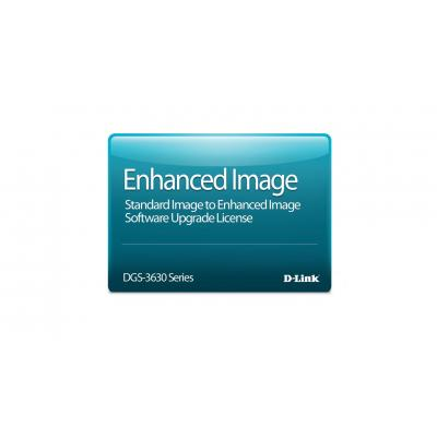 D-Link Standard Image to Enhanced Image Upgrade License for the DGS-3630-28SC Switch Software licentie