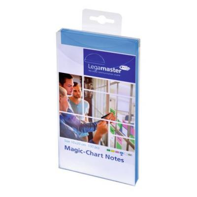 Legamaster Magic-Chart notes 10x20cm blue 100pcs Board accessorie - Blauw