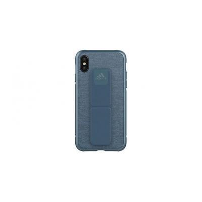 Adidas mobile phone case: Apple iPhone X, Cover - Blauw