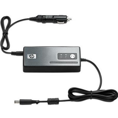 Hp netvoeding: 90W Smart AC/Auto/Air Combo Adapter - Zwart