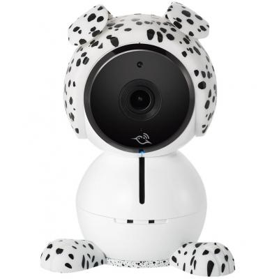 Netgear beveiligingscamera bevestiging & behuizing: Baby Puppy Character, 76 x 79 x 46mm - Zwart, Wit