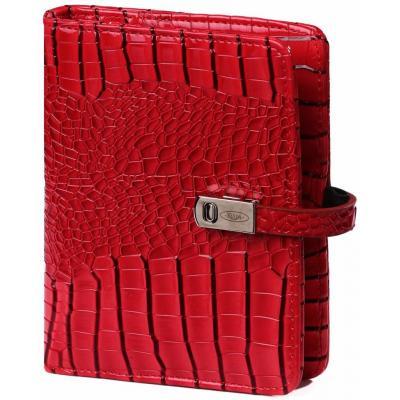 Kalpa Pocket - Junior organizer Gloss Croco rood Schrijfblok
