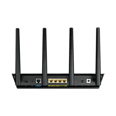 Asus wireless router: RT-AC87U - Zwart