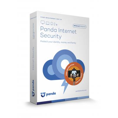 Panda databeveiligingssoftware: Internet Security, 5 User + Selfie Stick (Dutch / French) (WIN / MAC / Android)