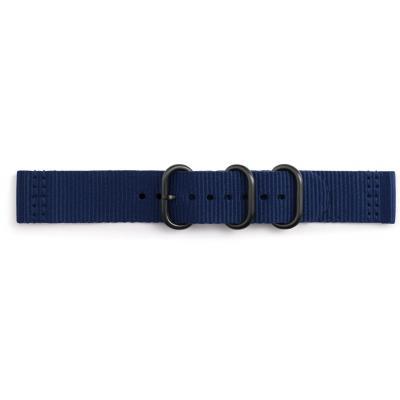 Samsung horloge-band: Premium Nato - Blauw