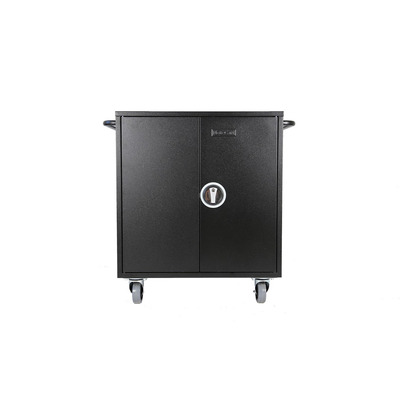 Leba NoteCart Flex Extended 24 (Schuko) Portable device management carts & cabinet - Zwart, Grijs