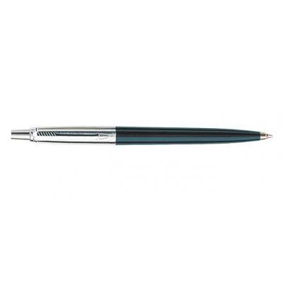 Parker pen: Jotter Special Black CT, Blue ink - Zwart, Roestvrijstaal