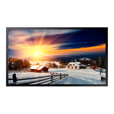 "Samsung public display: 139.7 cm (55"") , 1920x1080, 8 ms, 2x HDMI, USB, RS-232, RJ-45, HDBaseT, AC 100-240V 50/60Hz, ....."