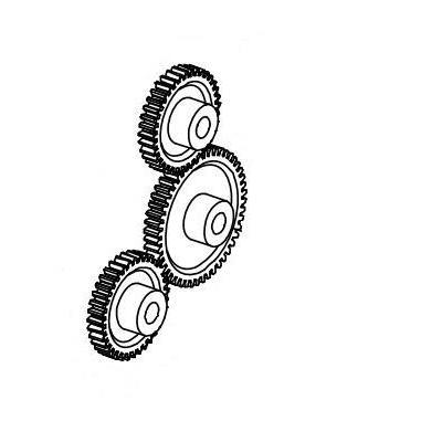 Datamax O'Neil Kit, Drive Gear for M-4206 /M-4208 / M-4306, M-4206 / M-4210 / M-4308 Mark II Printerkit
