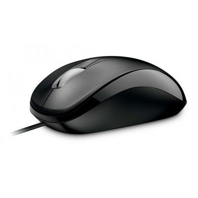 Microsoft computermuis: Compact Optical Mouse 500 for Business - Zwart