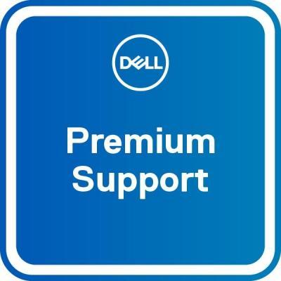 Dell garantie: 1Y Base Warranty with Collect & Return – 2Y Premium Support