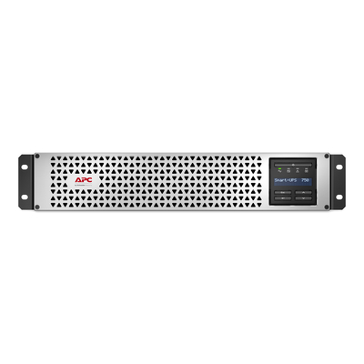 APC Smart-UPS Li-ion SMTL750RMI2UC Noodstroomvoeding - 6x C13, Short Depth, Rack Mountable, 2U, SmartConnect, 750VA .....
