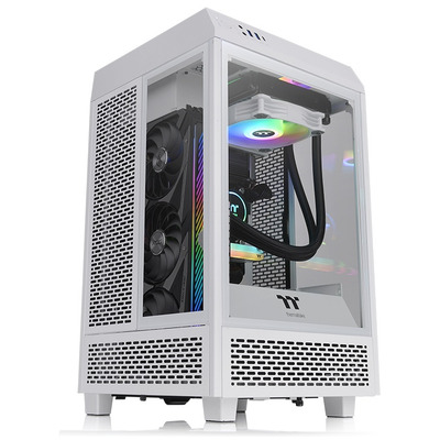 Thermaltake The Tower 100 Snow Behuizing - Wit