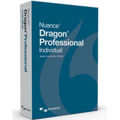 Nuance stemherkenningssofware: Dragon Professional Individual, UPG