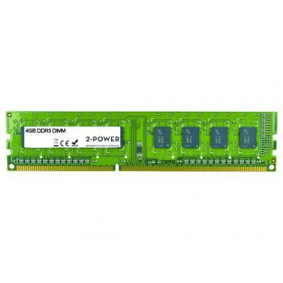 2-power 4GB MultiSpeed 1066/1333/1600 MHz DIMM Memory - replaces B4U36AA RAM-geheugen