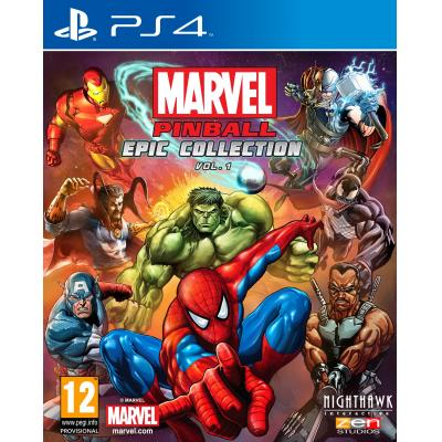 505 games game: Marvel Pinball  PS4