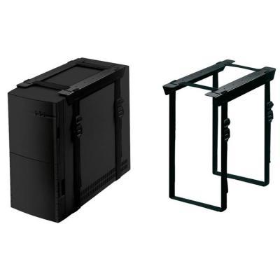 Newstar cpu steun: Under Desk PC Mount (Suitable PC Dimensions - Height: 3-60 cm / Width: 8-70 cm) - Black - Zwart .....