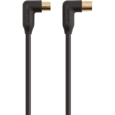Belkin Antenna M/F 2m Coax kabel - Zwart