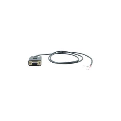 Kramer Electronics C-D9F/OPEN Seriele kabel - Zwart