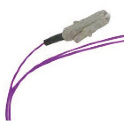 Lanview LC/UPC, OM4, 50 / 125 µm, PVC, Purple, 2 m Fiber optic kabel - Paars
