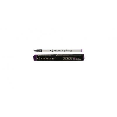 Parker fijnschrijver: 5TH Refill, Purple - Zwart, Wit
