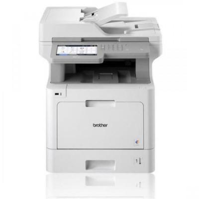 Brother Netwerk Kleurenlaserprinter 31 ppm MFC-L9570CDW Multifunctional - Wit