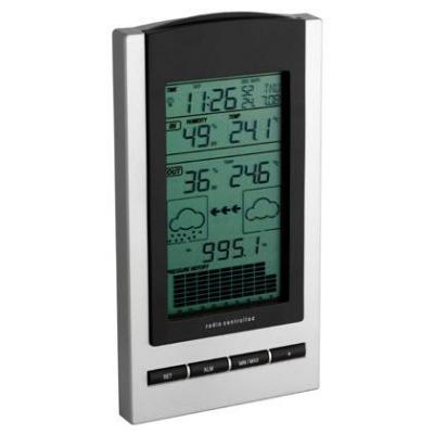 Tfa weerstation: Gaia, wireless weather station, Black/Grey - Zwart, Grijs