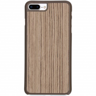 Wood Snap On Backcover iPhone 8 Plus / 7 Plus - Lichtbruin hout Mobile phone case